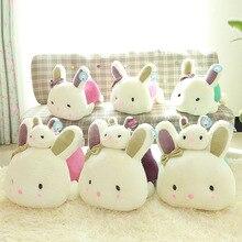 Zhaitu lovely baby лежачие для лежачие кролик плюшевые игрушки куклы маленький белый кролик подарок по оптовой цене, Rol10010