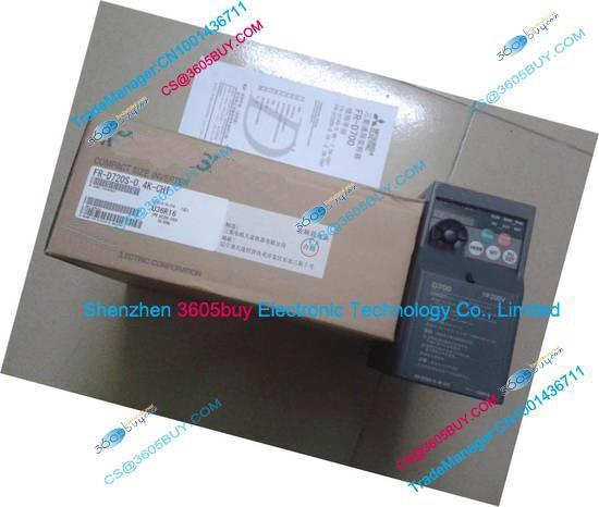 Inverter FR-D720S-0.75K-CHT 200~240V 4.2A 0.75KW 0.2~400Hz New Original