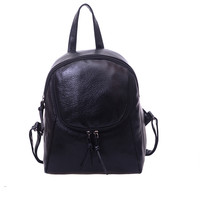 2016 Fashion College Wind Schoolbag Washed Leather Backpack Woman Korean Leisure Bag Good Quality Rucksack Women