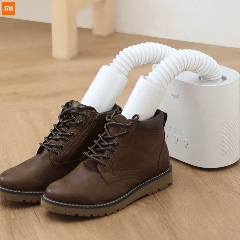 New XIAOMI Deerma Smart Multifunction Retractable Shoes Dryer Multi effect Sterilization Dehumidification Heating Clothes Socks