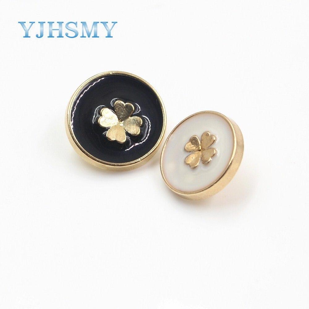 Antique Bronze Bohemian Flower Metal Shank Button Floral Pattern Coat 20mm 10pcs