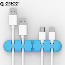 ORICO Original Cable Winder Manager Wire Organizer Desktop Clips Cord Management Headphone Cord Holder Colorful