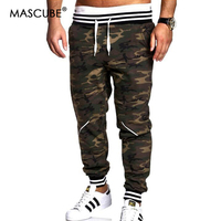 MASCUBE Men Pants Sports Winter Climbing Camouflage Trousers Hunting Men Military Army Pant Thick Trekking Camping Pants