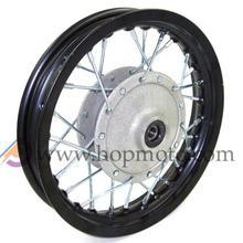 10 inch Black Aluminum Alloy  Wheel Rims Front Drum Brake  hub for dirt bike pit bike KTM CRF Kayo BSE Apollo