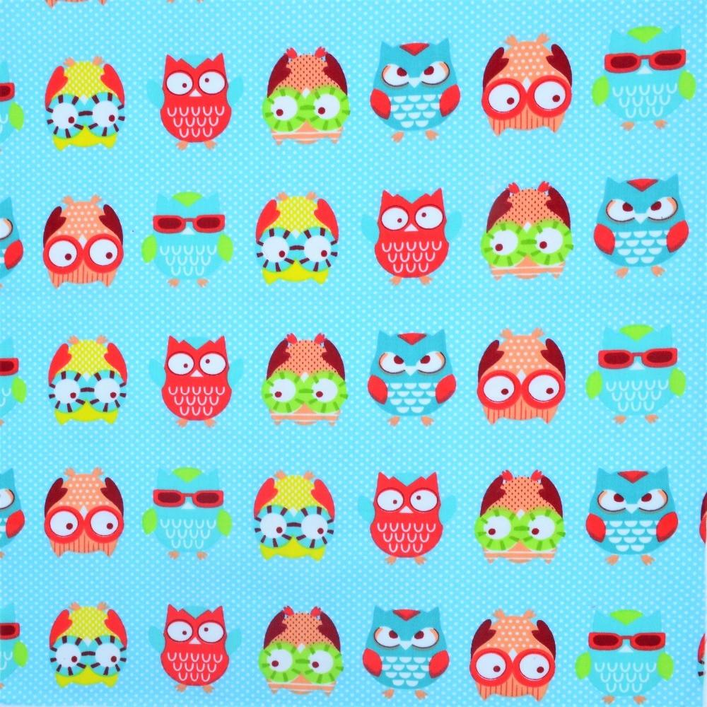 5Pcs 40 * 50cm Mavi Cizgi Çaplı Pambıq Parça Metr Diy Əl - İncəsənət, sənətkarlıq və tikiş - Fotoqrafiya 6