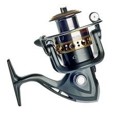 Free shipping Spinning Fishing Reel Fishing reel GA2000 Carp Ice Fishing Gear 5.5:1 Real 13BB casting reel