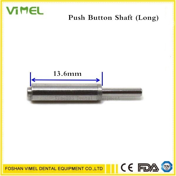 5pcs 13 6mm Dental Push spindle dental handpiece dental Shaft cartridge rotor spare parts