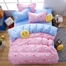 Fashion style bedding sets 4pcs Twin/Single/Double/Queen size 100%cotton duvet cover+bedsheet+pillowcase linen bedcover set