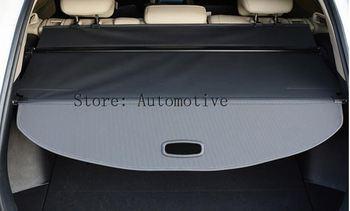 1 Uds. Bastidores traseros negros protección de seguridad de maletero parte de cubierta de carga para Hyundai Creta/ix25 2014-2017