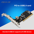 ANDDEAR USB2.0 expansion karte desktop PCI zu 5 usb2.0 adapter karte NEC chip usb c zu hdmi vga usb c ethernet wand platte|Wireless-Modul|   -