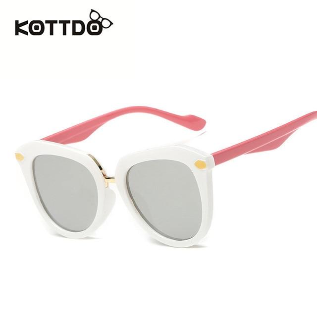382156fe6c Kottdo New Baby Children Cartoon Sun Glasses Fashion Square Travel Outdoor  Colorful Sunglasses 100% UV Protection Oculos 6002