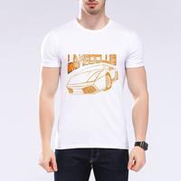 Hommes de Mode Variété De Voitures Impression T-shirt 2017 de Bande Dessinée Couleur De Voiture T-shirt de Vente Chaude Hommes 3D T-shirt Top Marque Moe Cerf F6-38 #
