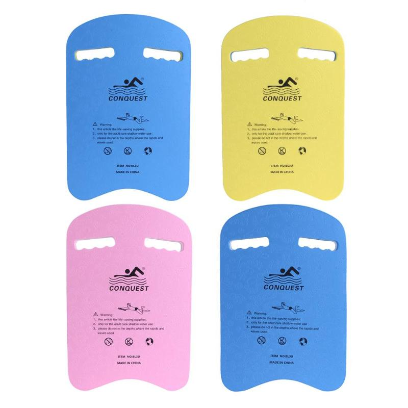 Summer EVA Back Float Kickboard Safe Swimming Training Aid Plate Board Surf Water for Adult Kid Swimming Pool Accessories