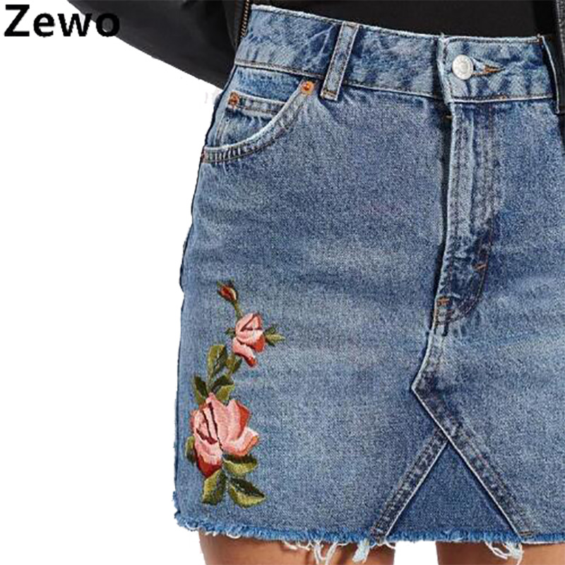 Online Get Cheap Womens Summer Jean Skirts -Aliexpress.com ...