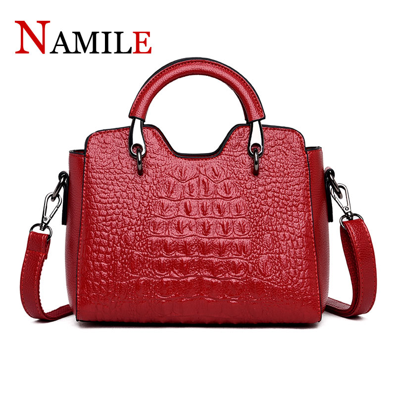 Womens handbags luxury crocodile pattern handbags fashion ladies shoulder bag elegant and comfortable ladies diagonal packageWomens handbags luxury crocodile pattern handbags fashion ladies shoulder bag elegant and comfortable ladies diagonal package