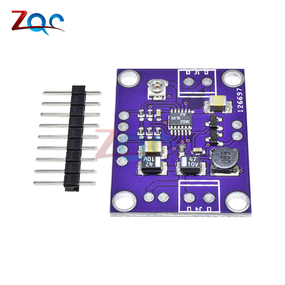 Integrated Circuits Lt3652 Solar Power Battery Charger Board 2a Battery Power Bank Balancer Charging Extension Board Module High Precision