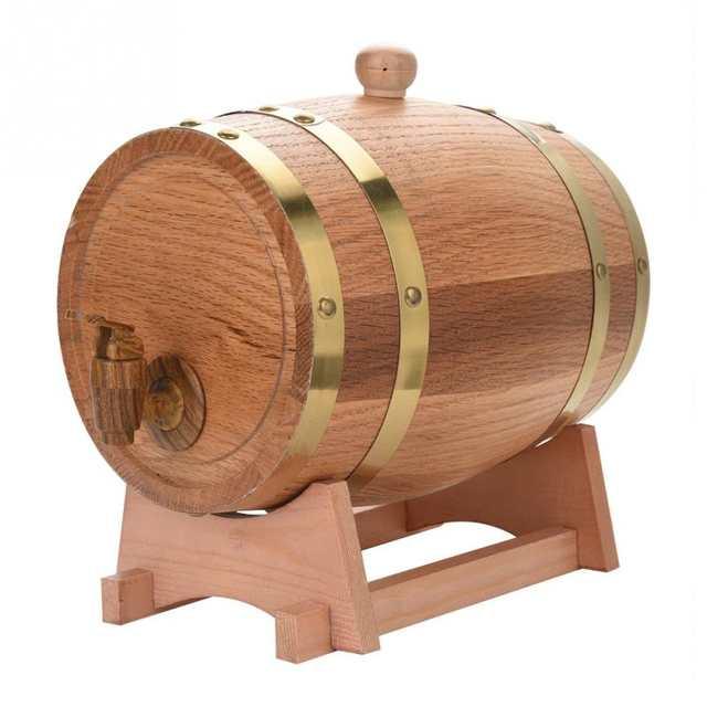 Online Shop 1 5l 3l Beer Brewing Keg Oak Barrels Brewing Decorative