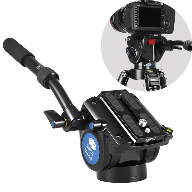 DHL Free Shipping SIRUI VH10 VH-10 Hydraulic Tripod Head Professional Camera Damping Video Head Carrying Bag Warranty 6 Years