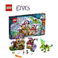 Lego elfi mattoni da costruzione giocattolo Il Segreto Market Place Building blocks Giocattoli per bambini LEGC41176