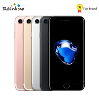Original Apple iPhone 7 IOS Quad Core 2GB RAM 12.0MP Camera 4K Video 4G LTE Mobile Phone With Fingerprint Touch ID