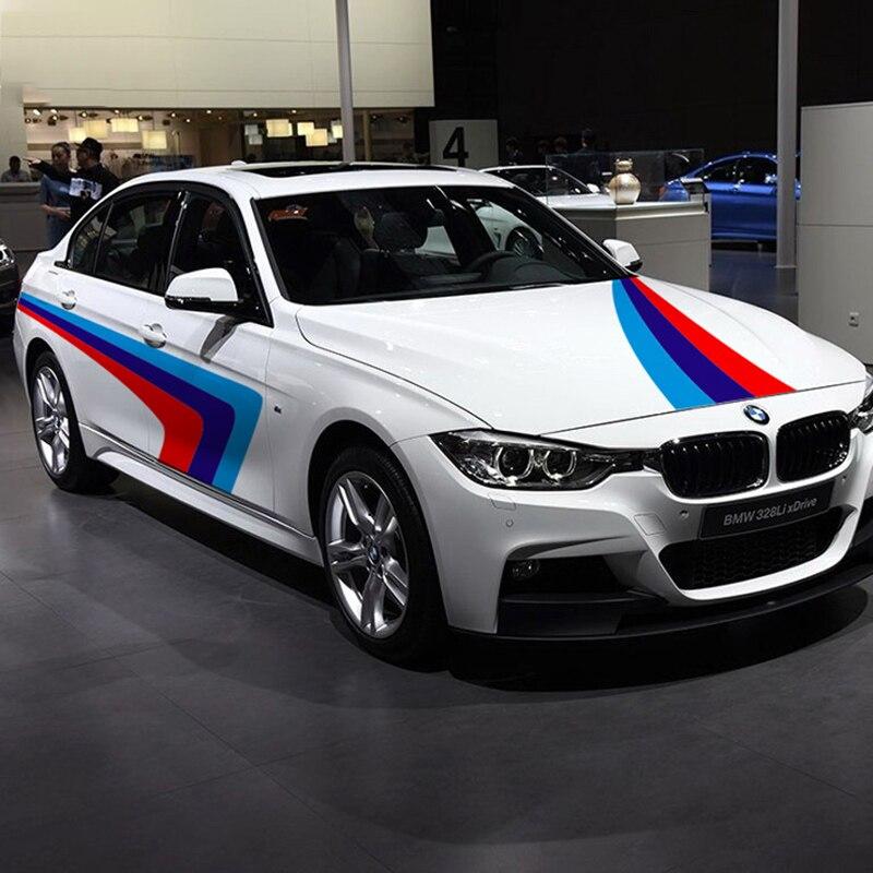 Style de voiture de mode pour BMW E46/E39/E60/E90/E36/F10, changement de couleur bricolage