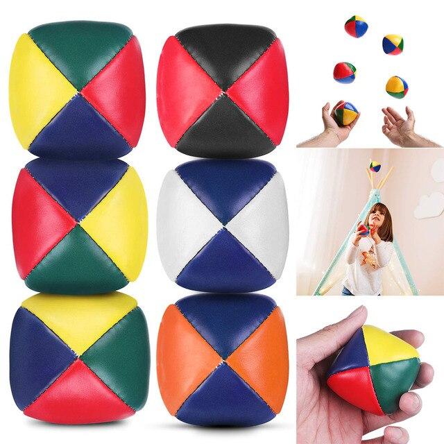 5Pcs Jongleren Ballen Set Duurzaam Soft Gemakkelijk Jongleren Ballen Voor Beginners Jongens Meisjes Volwassenen BM88