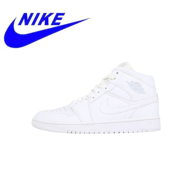 90d258a36258 High Quality Nike Air Jordan 1 Mid Whiteout  Retro High OG Men  Skateboarding Shoes Sports Shoes 554724 104 BV1803 106