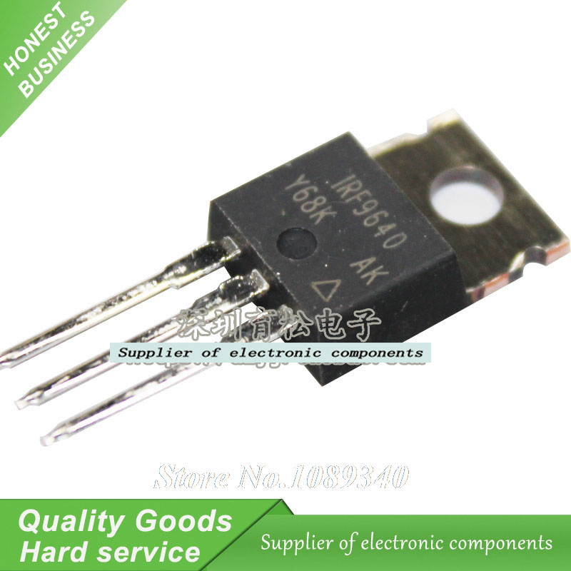 5pcs/lot IRF9640 IRF9640PBF TO-220 IC P-channel patch field effect New Original