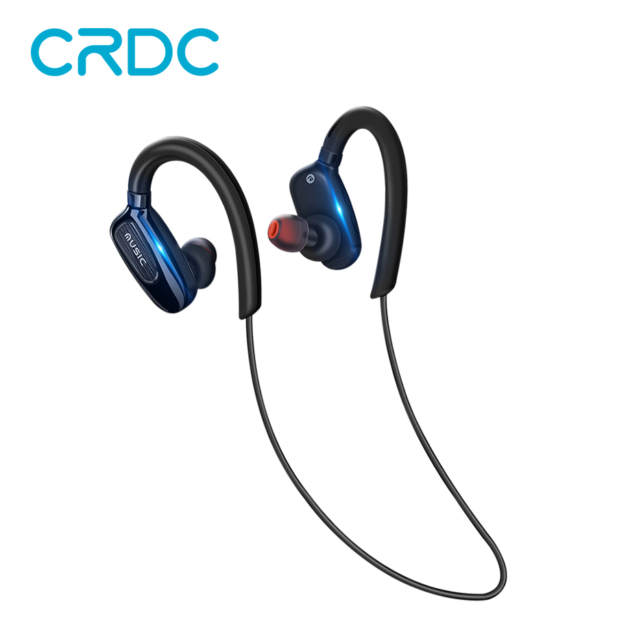 CRDC Sports Bluetooth Headphones Waterproof mini Wireless Earphones Stereo headset With Micfone for IPhone Samsung HuaWei