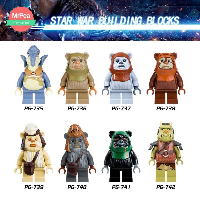 ღ ღVenta única legoing Star Wars bloques de construcción gamorrean ...