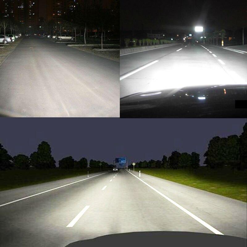 H4 H7 LED işıq mənbəyi H3 H8 H9 HB2 9003 HB1 9004 HB3 9005 HB4 - Avtomobil işıqları - Fotoqrafiya 4