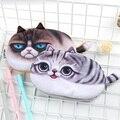Kawaii Pencil Case Novelty cat flannel School Supplies Bts Stationery Gift Estuches School Cute Pencil Box Pencil Bag