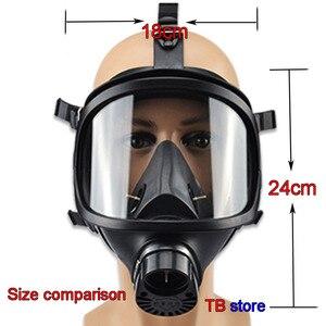 Image 2 - MF14 כימי גז מסכת כימי ביולוגי, ורדיואקטיביים זיהום עצמי תחול מלא פנים מסכת קלאסי גז מסכה