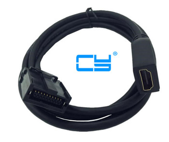 100pcs/HDMI E Type to HDMI A Type Extension  AV cable for car 1.5mHDMI E Type to