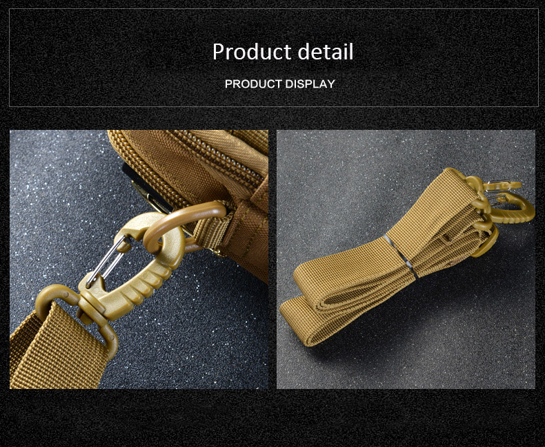 Multifunctional Camping Waist Pack Climbing Emergency Molle Survival Kits Outdoor Tactical Bag Wallet Pouch Outdoor Sport Pack (2)