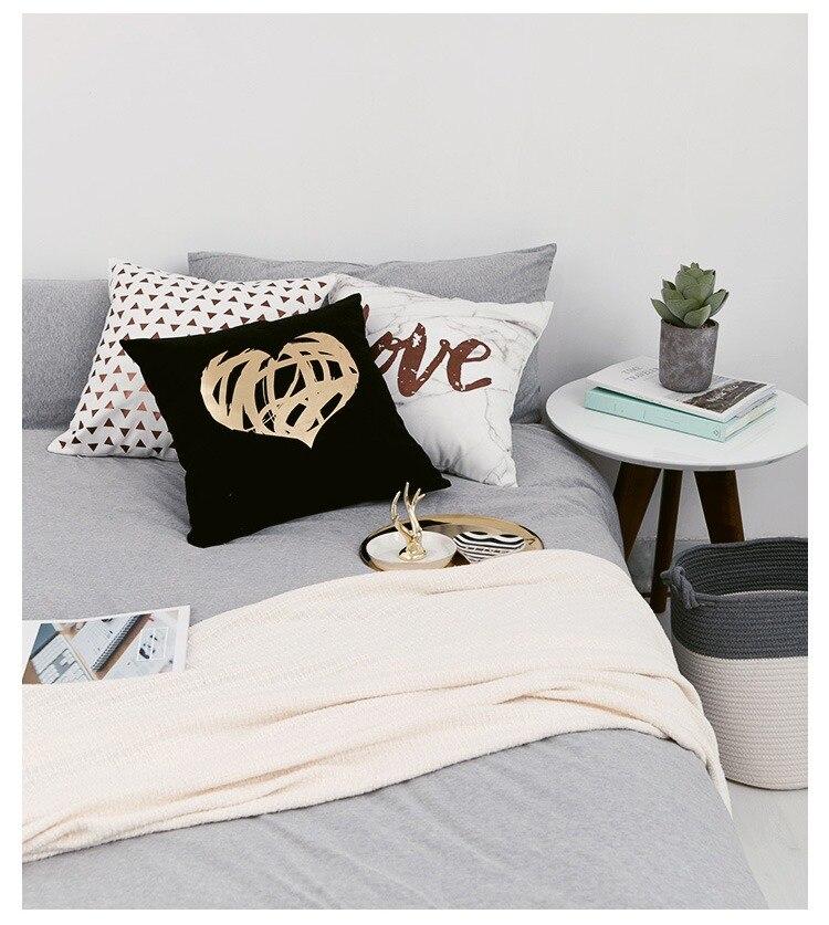 HTB1DecVPMHqK1RjSZFEq6AGMXXa5 Black Golden Leaves Cushion Brozing Gold Foil Cushion Decorative Pillows Home Decor Throw Pillow Almofadas Decorativas Para Sofa