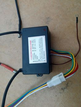 220V / 110V Gas Ignition Spark Control Module, Black Box Gas Lighting Unit, Automatic Eletronic Gas Igniter Distributor 8