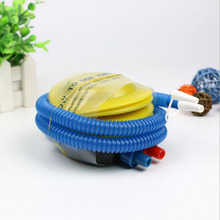 1piece hand push air pump foot balloon plastic inflator event party supplies high quality for balls