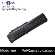 5200mah New 6 cells Laptop battery For asus N50 N50VC N51 N51A N51S N51V,A32-N50 A33-N50 90-NQY1B1000Y 90-NQY1B2000Y цены