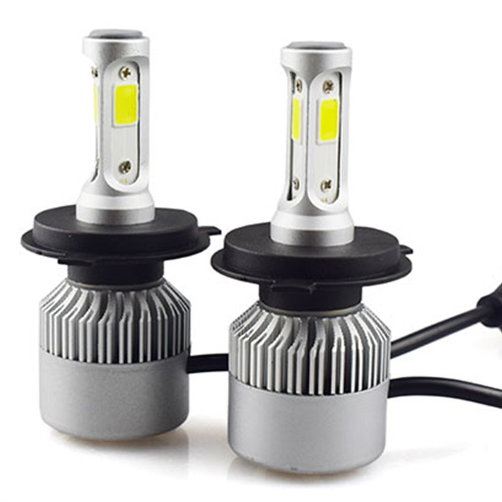 1 Pair H1 H7 H4 H11 H3 9005 9006 880 H13 Car LED Headlight 8000LM Super Bright Driving Fog Lights Replace Bulb Lamp Waterproof 1 pair waterproof h11 car led headlight head lights lamps automobiles headlamps car styling super bright version of x7 universal