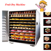 Household 10 Tray Stainless Steel Nuts Dry Machine Fruits And Vegetables Dehydration Drying Machine Pet Food