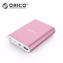 ORICO Q1 taşınabilir harici pil Paketi 10400 mAh Güç Banka QC 2.0 Hızlı Şarj için Samsung Xiaomi Huawei