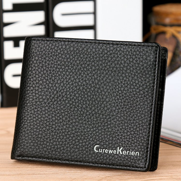 Hot style of foreign trade Simple man short a wallet British wallet