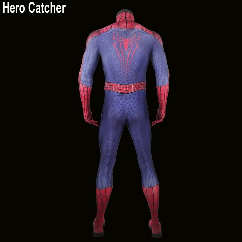 Ήρωας Catcher Spiderman κοστούμι Ενηλίκων 3D - Καρναβάλι κοστούμια - Φωτογραφία 3