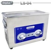 Ücretsiz Kargo Limplus Ultrasonik Temizleyici 4.5L Paslanmaz Çelik Temizleme Takı Izle Gözlük Büyük Kapasiteli Temizleyici Ile Isıtıcı