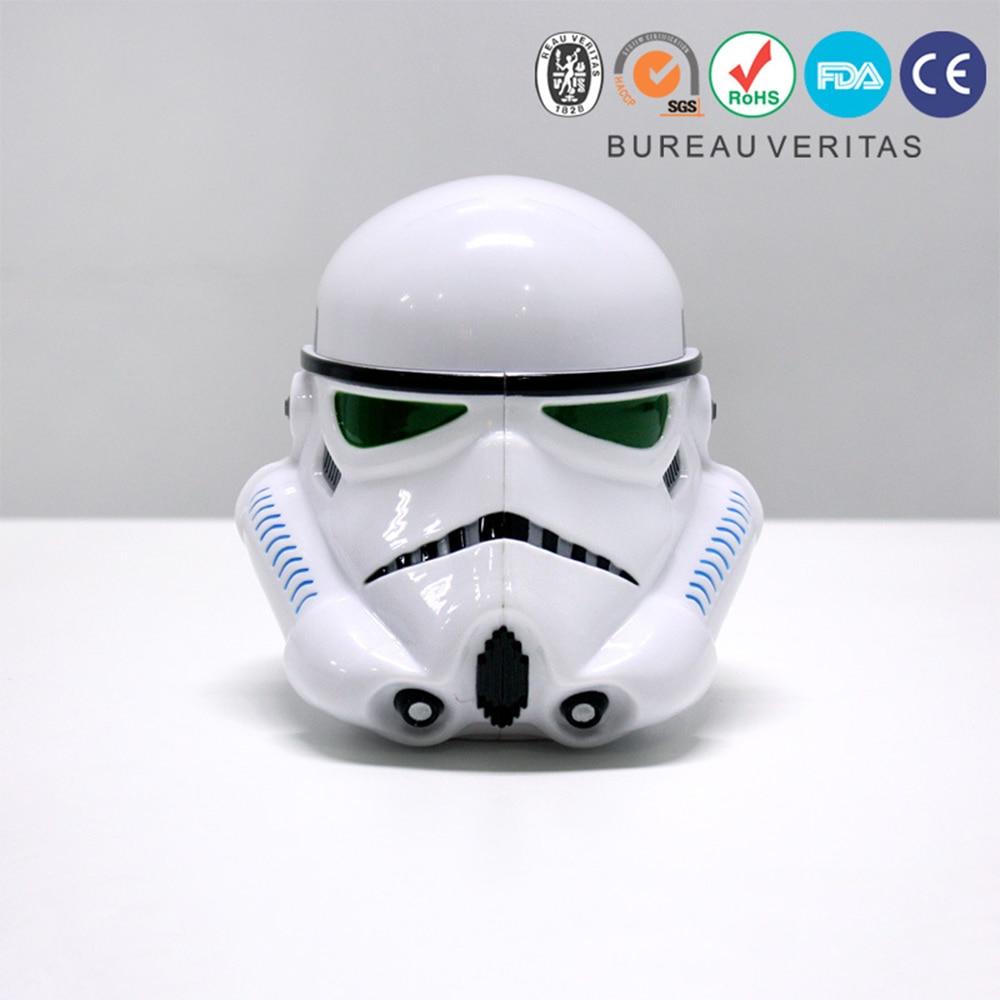 JIVANWARE Plastic Creative Coffee Cup Darth Vader  Star War series Iron man 3D Fashion People Love with it