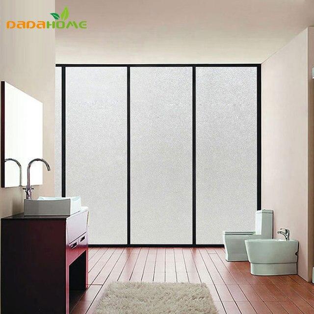 lectrostatique rayonnement protection givr fen tre film d coratif pais opaque en verre d poli. Black Bedroom Furniture Sets. Home Design Ideas