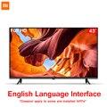 Оригинальный Xiaomi tv 43 дюйма E43A безборный Full HD экран ТВ набор 1 Гб + 8 Гб памяти антистатический AI Голосовое управление Dolby Sound DTS
