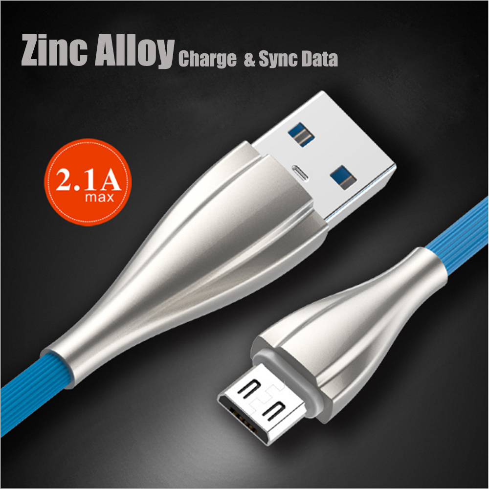 10pcs Nylon weave Zinc Alloy Micro USB type C Cable For iPh X 8 7 6 Fast Data Charging Wire Mobile Phone Cable 2 0 A 1M in Mobile Phone Cables from Cellphones Telecommunications
