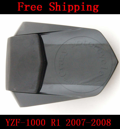 For Yamaha YZF 1000 R1 2007-2008 motorbike seat cover Motorcycle Black fairing rear sear cowl cover Free Shipping aftermarket free shipping motorcycle parts eliminator tidy tail for 2006 2007 2008 fz6 fazer 2007 2008b lack